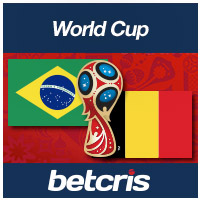 BETCRIS World cup Brasil vs Belgica