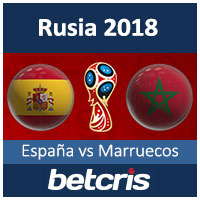 BETCRIS WORLD CUP Rusia-2018 Espana vs Marruecos