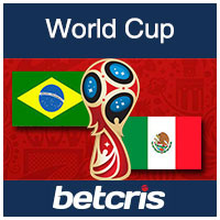 BETCRIS World Cup Brazil vs Mexico