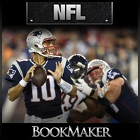 betting odds nfl week 2 line on patriots game