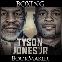 Roy Jones Jr. vs Mike Tyson Boxing Betting
