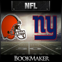 Cleveland Browns vs New York Giants Head-to-Head Win Total Odds