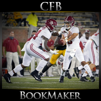 Alabama Crimson Tide at Tennessee Volunteers CFB Betting
