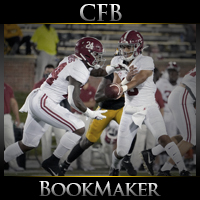 Georgia Bulldogs at Alabama Crimson Tide CFB Betting