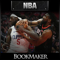 NBA Odds - Los Angeles Clippers at Houston Rockets