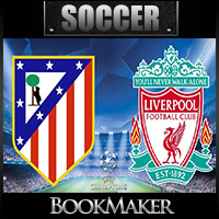 EPL Betting Odds – Atletico Madrid at Liverpool Match Preview