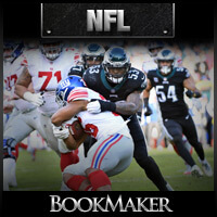 NFL Odds – Giants at Eagles on Monday Night on ESPN
