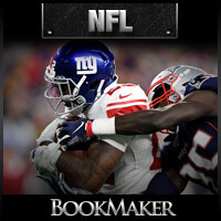 NFL Odds - New York Giants at New England Patriots