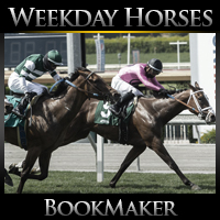 Weekday BookMaker Horse Racing Schedule July 6-10