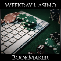 Weekday BookMaker Casino Schedule – June 22-26