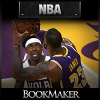 NBA Odds - Los Angeles Lakers at New Orleans Pelicans
