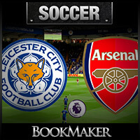 EPL Betting Odds – Arsenal at Leicester City Match Preview