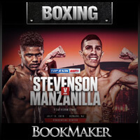 Shakur Stevenson vs. Franklin Manzanilla Betting Preview