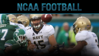 Week 7 College Football Odds - Navy Vs East Carolina