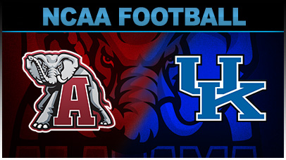 College football lines kentucky vs alabama betting point spread