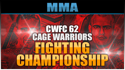 Cage Warriors Fighting Championship 62 Odds