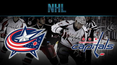 NHL Betting Online, Columbus Blue Jackets Vs Washington Capitals Odds