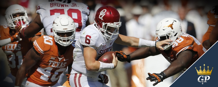 Oklahoma Sooners vs. Texas Longhorns Odds