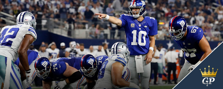 NFL Week 2 Betting Spreads, Giants Vs Cowboys Lines