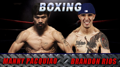 Brandon Rios Vs Manny Pacquiao Odds