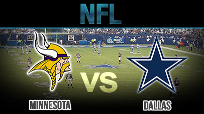 cowboys vs vikings live sports odds