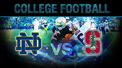 ncaaf spread stanford notre dame score