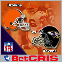 NF Football Ravens vs Browns