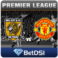Manchester-United-at-Hull-City odds