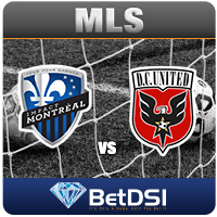 Montreal-at-DC-United odds