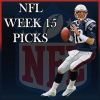 nfl week 15 picks sports gambling odds