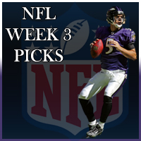 NFL Week 3 Betting Odds