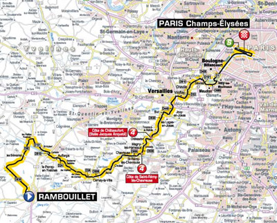 Tour de France - Stage 20 Betting