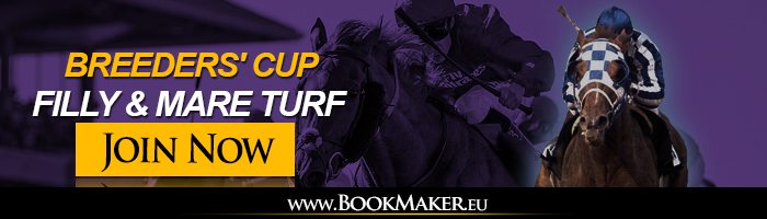 Breeders Cup Filly and Mare Turf Betting Odds