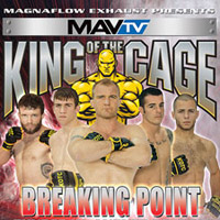 King of the Cage: Breaking Point Betting Odds