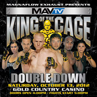 King Of The Cage Double Down Betting Odds