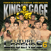 King of the Cage: Future Legends 6 Betting Odds