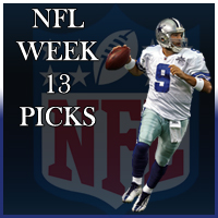online sports betting site nfl week 13 matchups
