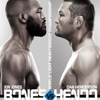 UFC 151: Jones vs Henderson Betting Odds