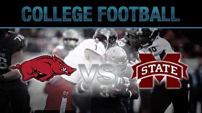 Image result for Arkansas Razorbacks vs Mississippi State Bulldogs