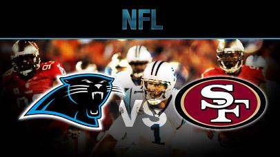 Image result for Carolina Panthers vs San Francisco 49ers pic