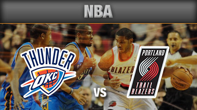 Image result for Portland Trail Blazers vs Oklahoma City Thunder pic