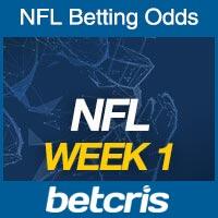 Online NFL Odds Week 1