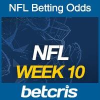 Online NFL Odds Week 10
