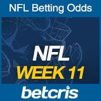 Online NFL Odds Week 11
