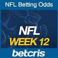 Online NFL Odds Week 12