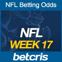 Online NFL Odds Week 17