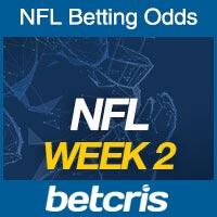 Online NFL Odds Week 2