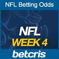 Online NFL Odds Week 4
