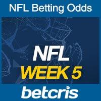 Online NFL Odds Week 5
