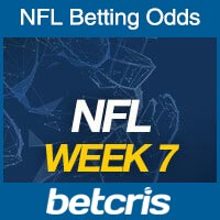 Online NFL Odds Week 7